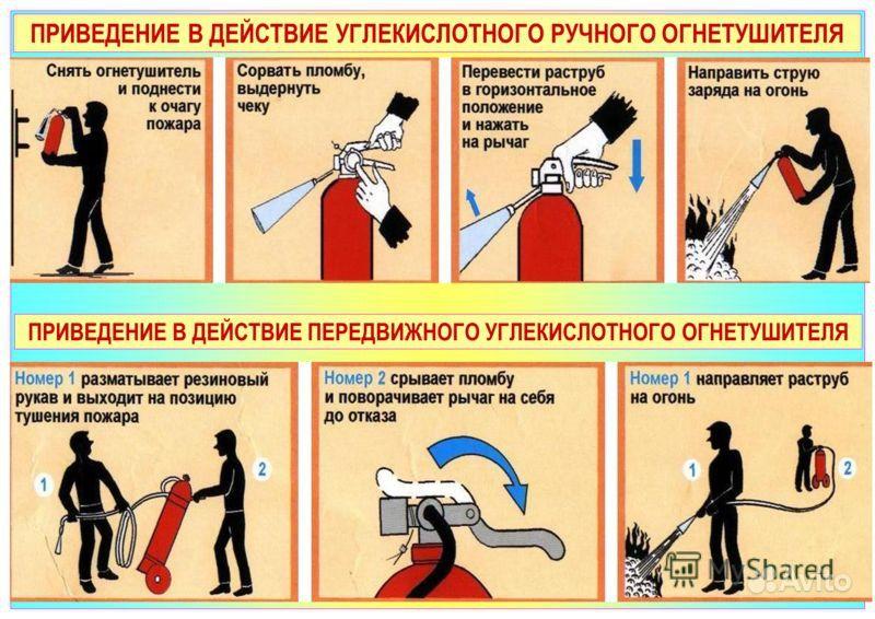 Инструкция По Эксплуатации Углекислотных Огнетушителей - фото 11