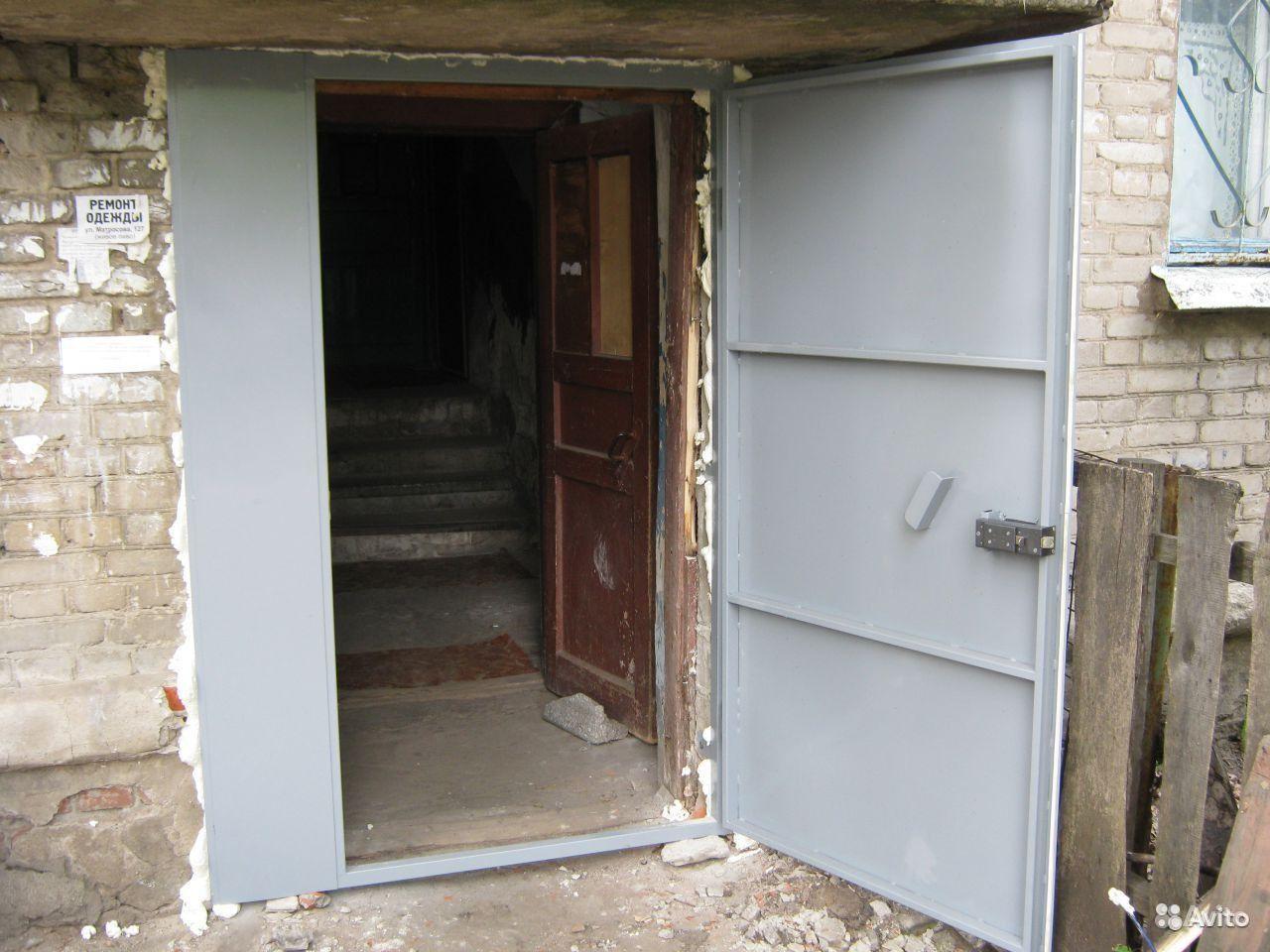 Двери в подъезд своими руками