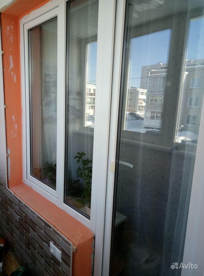 Балконное окно.  Москва