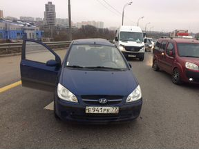 Разборка Hyundai Getz 1.4 AT синий