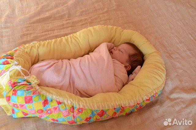Выкройка гнездышко для новорожденного своими руками