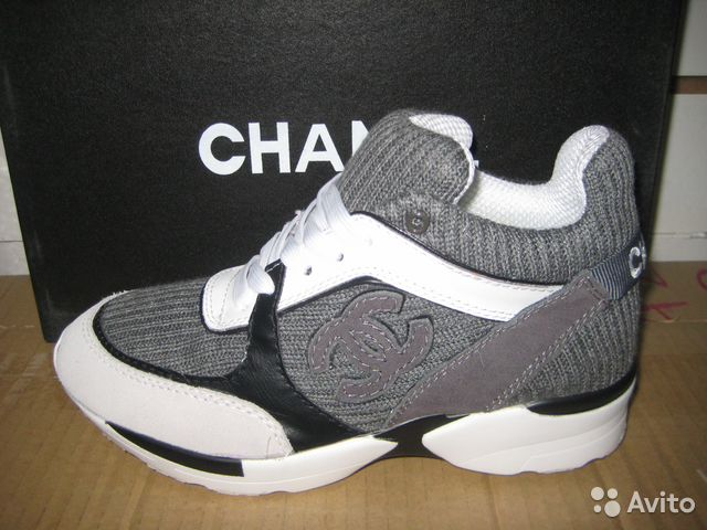 Chanel Sneakers Grey Кроссовки Chanel Sneakers Grey
