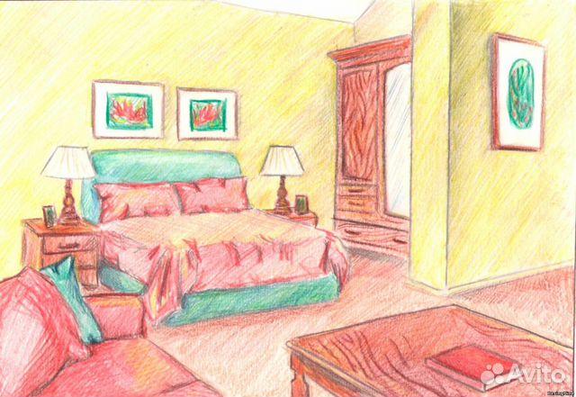 Как нарисовать своими руками свои комнаты