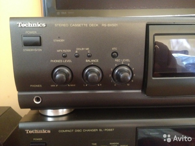 Technics cassete deck RS-BX501