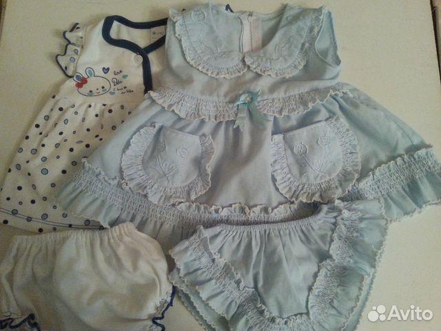 Платье девочки до года