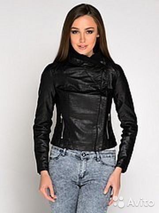 Куртка кожзам бренд New Look пр-во Македония купить 1