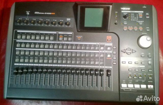 Tascam 2488neo 24 track hd recorder
