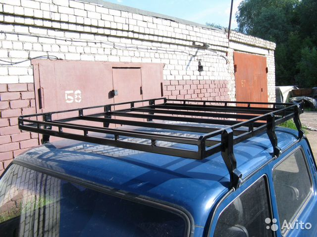 Стойки для багажника на крышу