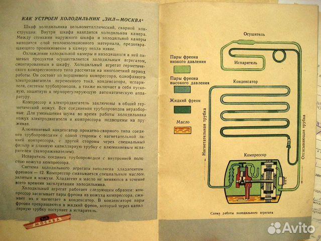 Холодильник ЗИЛ-Москва кх-240,