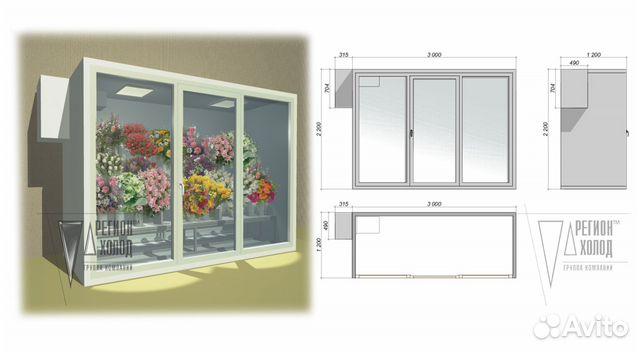 Холодильную камеру для цветов своими руками 672