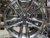 Новые литые диски R18 5*114.3 на Toyota Lexus