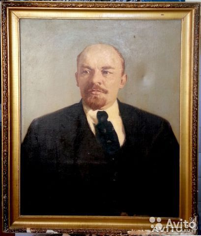 фото ленина портрет