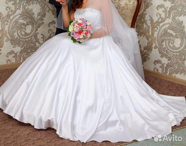 Свадебное платье на авито волгоград