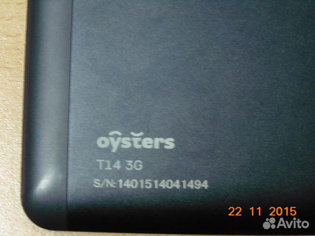 Планшет Oysters T14 3G описание, цена, где купить