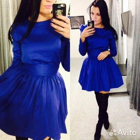 ae72028ac1fa722 Платье синее пышное. Много вещей - Личные вещи, Одежда, обувь, аксессуары - Красноярский  край, Красноярск - Объявления на сайте Авито