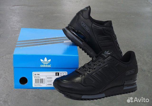 b0b1f18e Кроссовки Adidas ZX 750 кожа art.15321 - Личные вещи, Одежда, обувь,  аксессуары - Москва - Объявления на сайте Авито