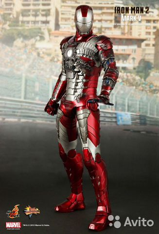 Hot Toys Iron Man 2 Mark V— фотография №1