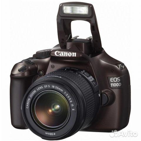 Продам Canon 1100 + EFS 18-55 mm— фотография №1