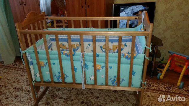 Авито объявления о детских кроватках