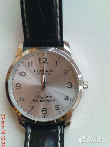 Omax часы brystal