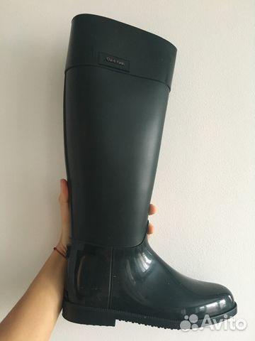 f3c0aa984 Резиновые сапоги Calvin Klein (изумрудно зелёный ) | Festima.Ru ...