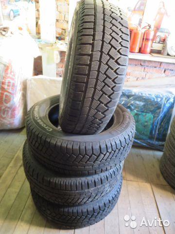 Зимние Continental CrossContact Viking 225/65 R17— фотография №1