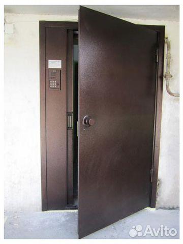 металлические двери для домофона