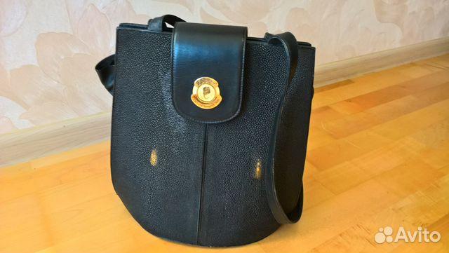 Кожаные сумки из кожи ската