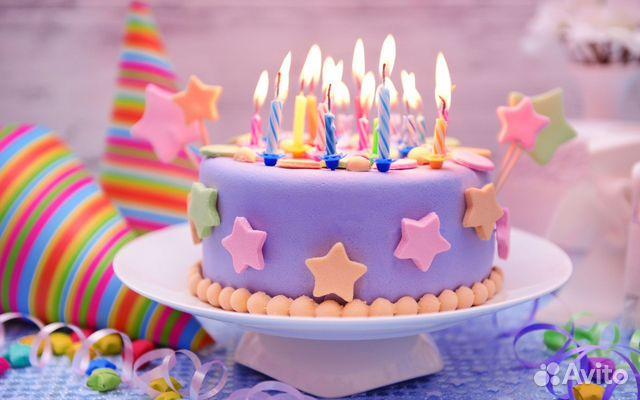 Фото тортов со свечами