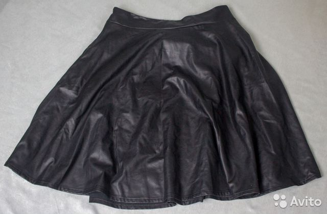 a230ad7ea69 Кожаная юбка клеш р. 52-56 купить в Ярославской области на Avito ...