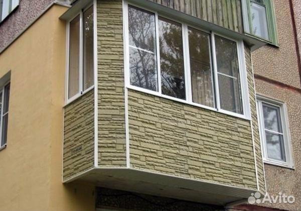 Отделка балкона сайдингом снаружи фото.