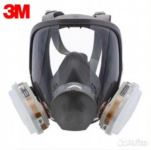 Полнолицевая маска 3М серии 6800 Полный комплект  49ae7447ebd68