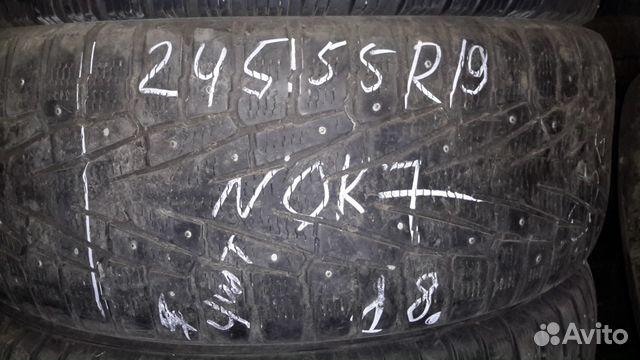 89805377242 245/55 r19 Nokian7 шипы 4 штуки
