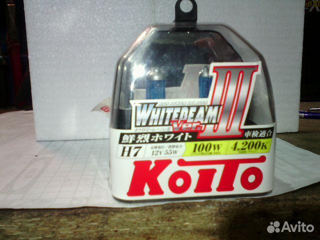 Лампы H7 Koito WhiteBeam III 89021728684 купить 3
