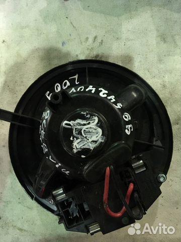 Мотор печки отопитель салона Шкода Октавия 2009— фотография №1