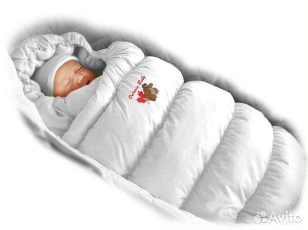 Конверты для новорожденных зима опт