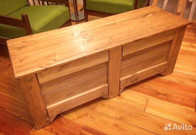 1299d7326901 Сундук из теплого дерева купить в Санкт-Петербурге на Avito ...