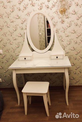 туалетный столик с зеркалом хемнэс икеаikea Festimaru