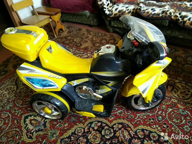 Купить мотоцикл детский кемерово