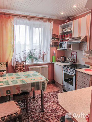 4-к квартира, 72.2 м², 5/5 эт.