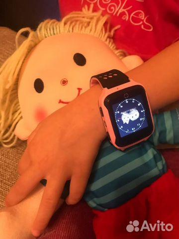 Умные часы детскиеsmart baby watch q06 waterproof swimming розовыйкод ,00руб.