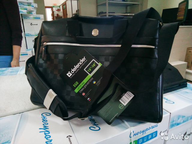 e1960c86ca65 Сумка для ноутбука Defender Ego купить в Самарской области на Avito ...