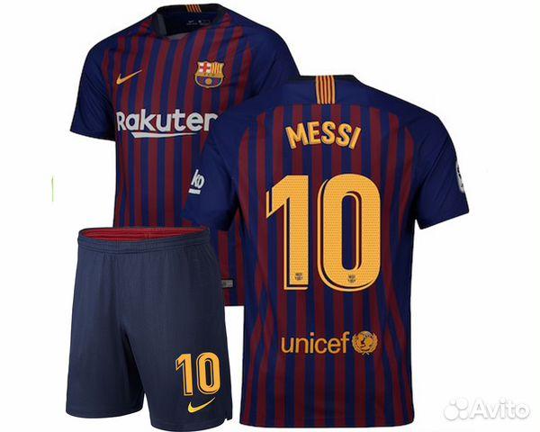 Детская футбольная форма Месси купить в Москве на Avito — Объявления ... 1c3f15e94a1