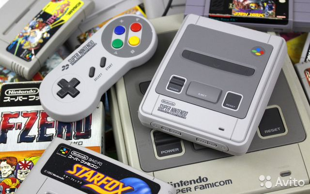 Super Nintendo Classic Mini: snes + 21 игра