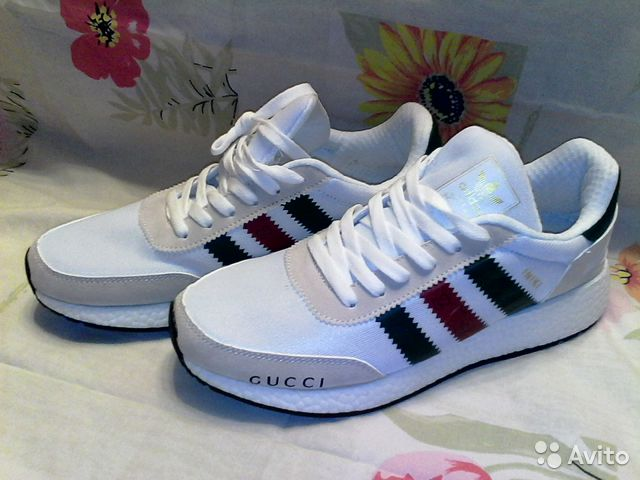 high fashion outlet store sale release info on Кроссовки Gucci x Аdidas Iniki Runner Boost р.41 купить в ...