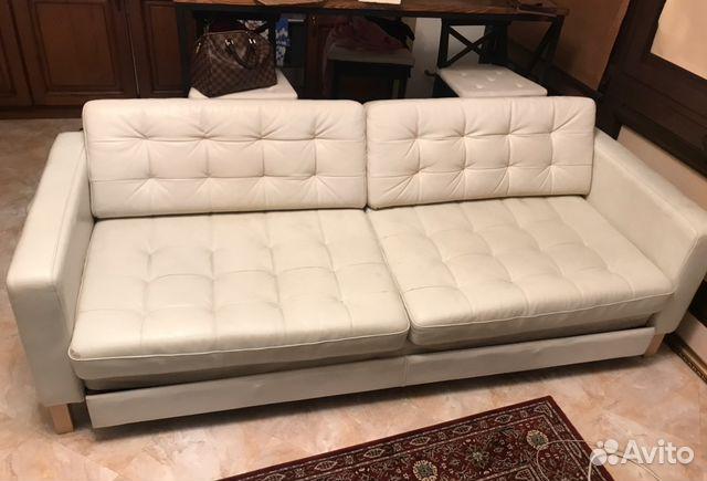 белый диван кровать Ikea хемнес Festimaru мониторинг объявлений