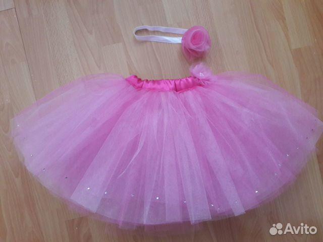 201f948c416 Юбка пышная ярко розовая