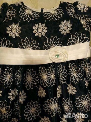 Платье нарядное со стразами Swarovski 7-10 лет  купить 3
