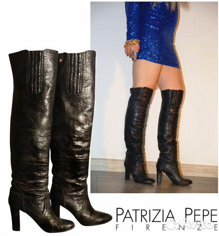 Ботфорты кожаные Christian Dior   Festima.Ru - Мониторинг объявлений 9ae16916692