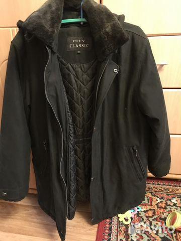 e4d0c58e063 Зимняя мужская куртка замшевая city classic 48 купить в Санкт ...